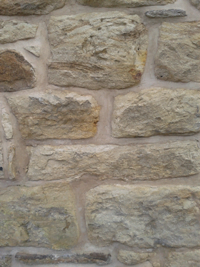 Stone Wall Lime Pointing